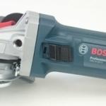 Foto vom Schiebeschalter an der Bosch Flex GWS 9-125 S