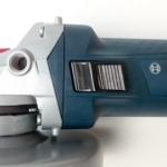 Ein Foto vom einrastbaren Schiebeschalter an der GWS 7 125